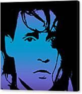 Johnny As Edward Canvas Print