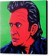 Johnny Pop Canvas Print by Pete Maier