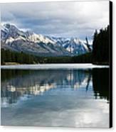 Johnson Lake Canvas Print