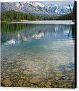 Johnson Lake Rocks Canvas Print