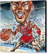 Jordan Canvas Print by Tom Hedderich