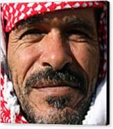 Jordanian Man Canvas Print by Munir Alawi