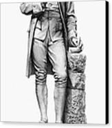 Joseph Priestley (1733-1804) Canvas Print by Granger