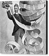 Joseph Pulitzer Canvas Print by Granger