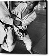 Judo Canvas Print by Bernard Wolff