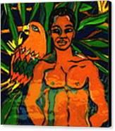 Jungle Pals Canvas Print by Patricia Lazar