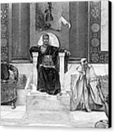 Justinian I (483-565) Canvas Print