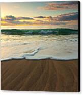 Kalalau Beach Sunset Canvas Print by Buck Forester