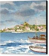 Kastelorizo Canvas Print by Kostas Koutsoukanidis