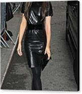 Kate Beckinsale Out And About For Kate Canvas Print by Everett