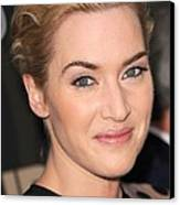 Kate Winslet At Arrivals For Mildred Canvas Print by Everett