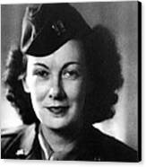 Kay Summersby Morgan Served As General Canvas Print