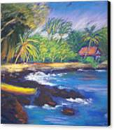 Kealakekua Bay Canvas Print by Karin  Leonard