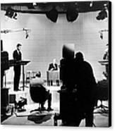 Kennedy/nixon Debate, 1960 Canvas Print by Granger