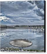 Kentucky Dam Dusk Canvas Print by Jim Pearson