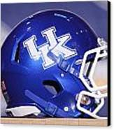 Kentucky Wildcats Football Helmet Canvas Print