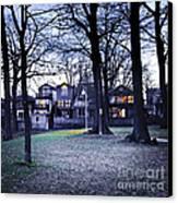 Kew Park At Dusk Canvas Print