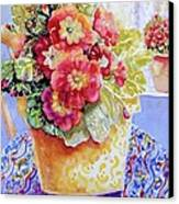 Kitchen Primrose II Canvas Print by Ann  Nicholson