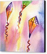 Kite Rockets Canvas Print by Lydia Irving