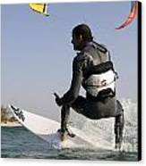 Kitesurfing Board Canvas Print