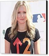 Kristen Bell In Attendance For Stand Up Canvas Print by Everett