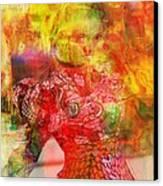 La Belle Canvas Print by Fania Simon