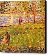 La Grande Jatte Canvas Print