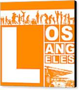 La Orange Poster Canvas Print