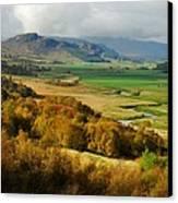Laggan Autumn - The Clan Mcphersons Seat Canvas Print by John Kelly