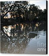 Lagoon At Dusk Canvas Print