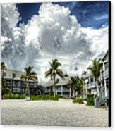 Lahaina Resort In Fort Myers Beach Canvas Print by Vicki Jauron
