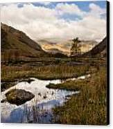 Lake District Reflections Canvas Print by Justin Albrecht