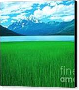Lake Eklutna 2 Canvas Print by Ronnie Glover