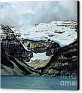 Lake Louise Canvas Print by Scott Nelson