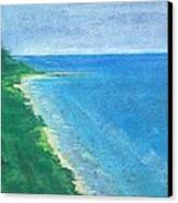 Lake Michigan Canvas Print by Lisa Dionne
