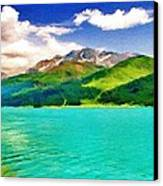 Lake Sils Canvas Print