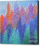 Landscape- Color Palette Canvas Print