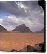 Landscape Of The Desert Canvas Print by Richard Nowitz