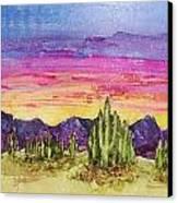 Landscape Canvas Print by Regina Ammerman
