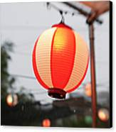 Lantern At Ginza Festival Canvas Print by Seeing Is Believing.