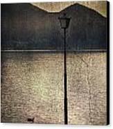 Lantern At The Lake Canvas Print by Joana Kruse