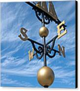 Largest Weathervane Canvas Print by Ann Horn