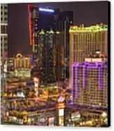 Las Vegas Nevada Canvas Print by Nicholas  Grunas