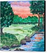 Last Light Canvas Print by Jeanette Stewart