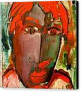 Laubar Face Adele Canvas Print