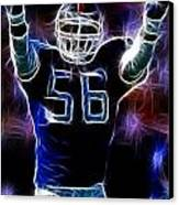 Lawrence Taylor  Canvas Print by Paul Ward