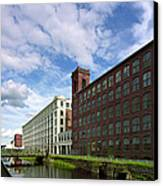 Lawrnence Mills Canvas Print by Jan W Faul
