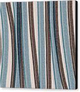 Lazy Stripes Canvas Print by Bonnie Bruno