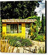 Le Jardin De Vincent Canvas Print by Chris Thaxter