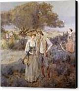 Le Retour De Cythere Canvas Print by William Lee